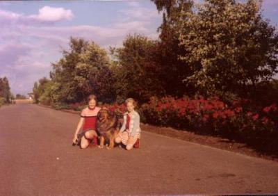 Maren und Anja mit Tosca